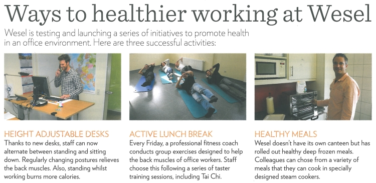 Ways to healthier working at slw Wesel - Kopie - Kopie