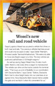 new rail and road vehicle